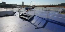 Golden Jubilee's large sun deck