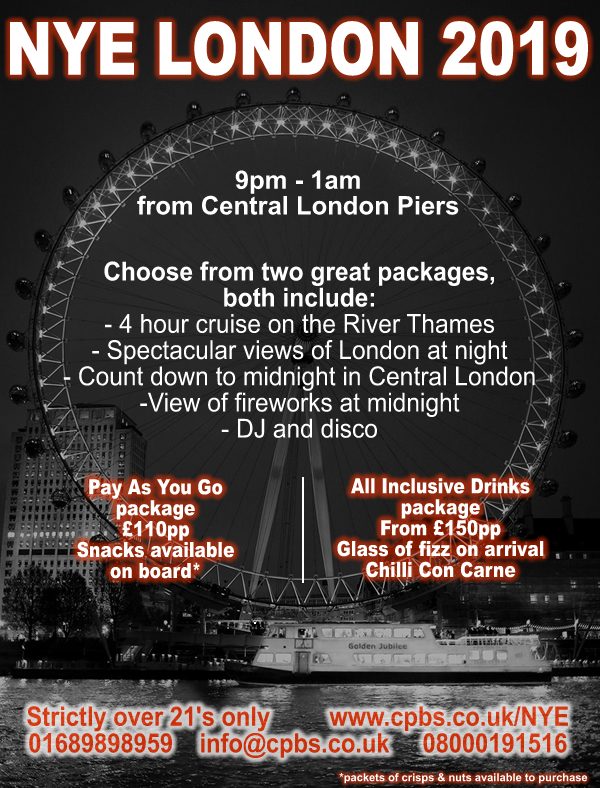 Christmas Boat Party London.Boat Party Tickets London S River Thames Capital