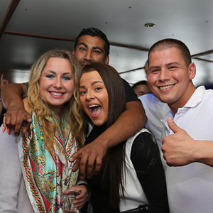 Celebrate your birthday on a party boat on the Thames