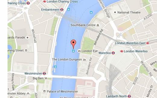 waterloo london map